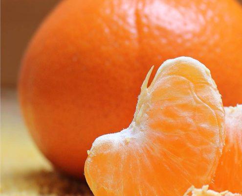 aprile di stagione l'arancio